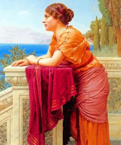Godward William The Belvedere paint by numbers
