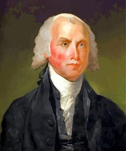 James Madison President paint by number