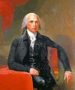 James Madison US President paint by number