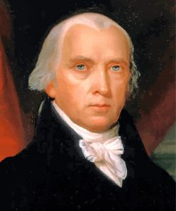 James Madison paint by numbers