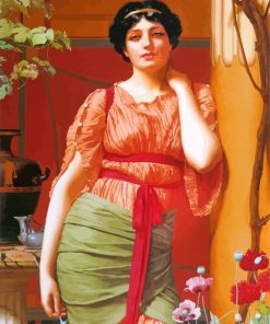 Nerissa william godward paint by numbers