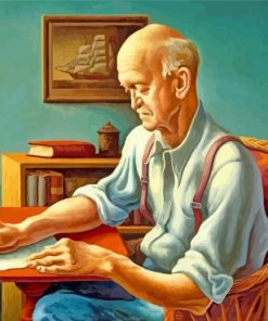 New England Editor thomas hart benton paint by numbers