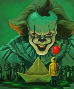 Pennywise The Dancing Clown paint by numbers