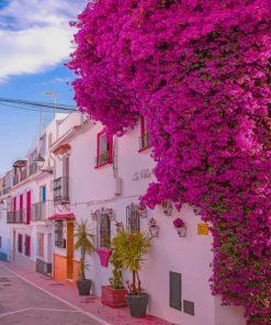 Marbella Spain paint by numbers