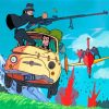 The Castle Of Cagliostro anime paint by numbers