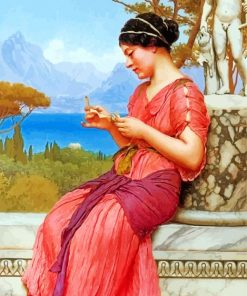 The Love Letter william godward paint by numbers