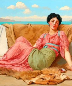 The Quiet william godward paint by number