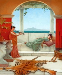 The Sweet Siesta Of A Summer Day william godward paint by numbers