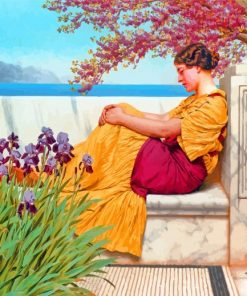 Under The Blossom That Hangs On The Bough william godward paint by number