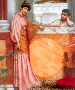 Waiting For An Answerwilliam godward paint by numbers