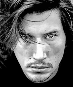 Adam Driver paint by number