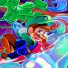 Aesthetic Luigi paint by numbers