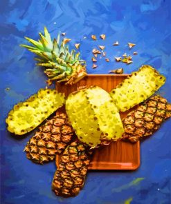 Aesthetic Pineapple Fruit paint by numbers