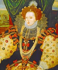 Armada Portrait Of Elizabeth paint by number