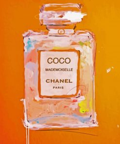 Coco Chanel paint by numbers