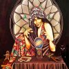Fortune Teller Woman paint by numbers