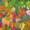 garden of eden paint by number