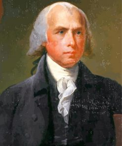 james madison Stateman paint by number