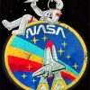 Nasa Space Man paint by numbers
