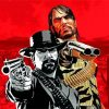 red dead redemption paint by numbers