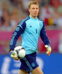 The Football Player Manuel Neuer paint by numbers