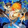The Promised Neverland Manga paint by numbers