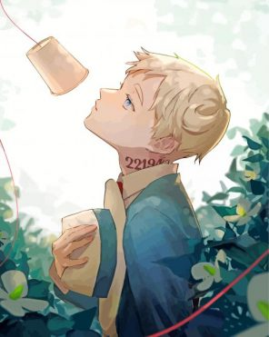 The Promised Neverland Norman paint by numbers