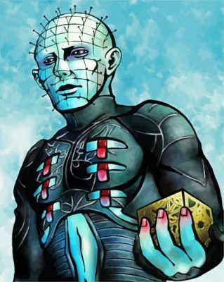 Hellraiser Artpiant by numbers