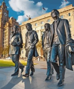 Beatles Liverpool paint by numbers