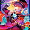 Hanako Anime Manga paint by numbers